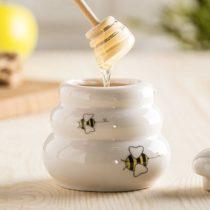Keramická nádobka na med