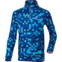 Klimatex KIMMO modrá 122 - Detský zimný pulóver