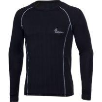 Klimatex KRYSTOF čierna S - Pánske tričko s dlhým rukávom