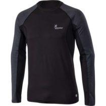 Klimatex SVEN čierna XL - Pánske tričko s dlhým rukávom