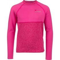 Klimatex WILLY svetlo ružová 134 - Detské funkčné tričko