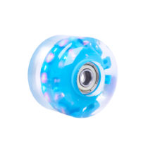 Svietiace koliesko na skateboard PU 50*36 mm s ABEC 5 ložiskami