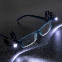 LED klip na okuliare (2 kusy)