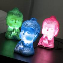 LED lampa malý Buddha