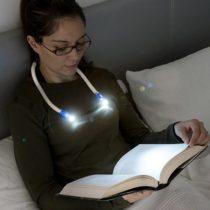 LED lampička na čítanie na krk