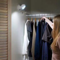 LED lampa s pohybovým senzorom