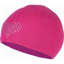 Lewro BEEDRIL ružová 8-11 - Dievčenská pletená čiapka