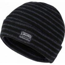 Lewro BULUT čierna 12-15 - Chlapčenská pletená čiapka