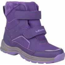Lewro CRONUS fialová 26 - Detská zimná obuv
