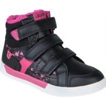 Lewro CUSTOS II čierna 35 - Detská zimná obuv