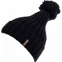 Lewro GABY čierna 8-11 - Dievčenská pletená čiapka