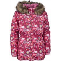 Lewro LAWANDA 140-170 červená 152-158 - Dievčenská zimná bunda