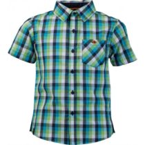 Lewro OLIVER modrá 116-122 - Chlapčenská košeľa