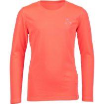 Lewro LIMANA oranžová 164-170 - Dievčenské tričko
