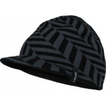 Lewro LUKE čierna 10-12 - Chlapčenská pletená čiapka