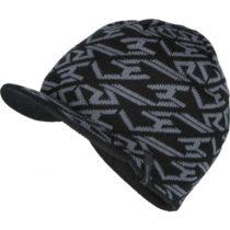 Lewro LUKES čierna 12-15 - Chlapčenská pletená čiapka
