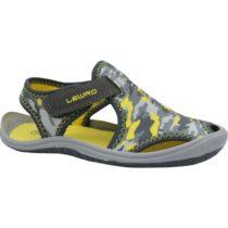 Lewro MELLOW sivá 27 - Detské sandále