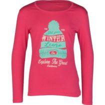 Lewro NORMINA ružová 164-170 - Dievčenské tričko