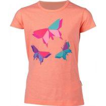 Lewro OANEZ oranžová 152-158 - Dievčenské tričko