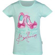 Lewro ORIETTA svetlo zelená 152-158 - Dievčenské tričko