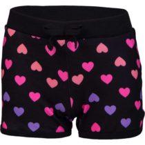 Lewro MISSY čierna 128-134 - Dievčenské šortky