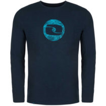 Loap ALBIN tmavo modrá L - Pánske tričko