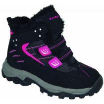 Loap BERNY ružová 31 - Detská zimná obuv