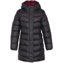 Loap INDORKA tmavo sivá 112-116 - Dievčenský kabát