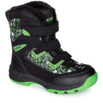 Loap NAO čierna 25 - Detská zimná obuv