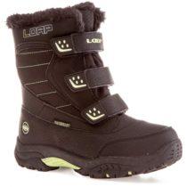 Loap KITTAY zelená 34 - Detská zimná obuv