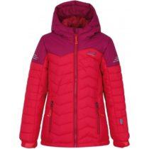 Loap FIXINA ružová 140 - Dievčenská zimná bunda