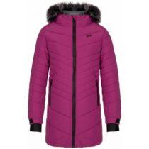 Loap OKTANA fialová 134-140 - Dievčenský zimný kabát