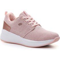 Lotto QUEEN AMF GLIT W ružová 6 - Dámska obuv na voľný čas
