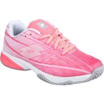 Lotto MIRAGE 300 ALR JR ružová 39 - Dievčenská tenisová obuv