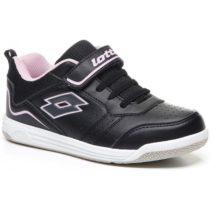 Lotto SET ACE XIII CL SL čierna 32 - Detská voľnočasová obuv