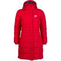 Lotto EDITH červená L - Dámsky prešívaný kabát