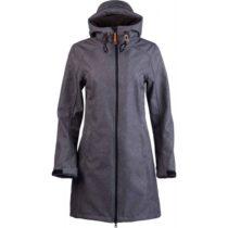 Lotto TINTA tmavo šedá XS - Dámsky softshellový kabát