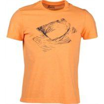 Lotto L73 III TEE LOTTO TRACE oranžová S - Pánske tričko