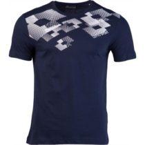 Lotto L73 V TEE LOSANGA JS tmavo modrá M - Pánske tričko