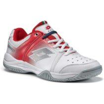Lotto T-TOUR V 600 W červená 9 - Dámska tenisová obuv