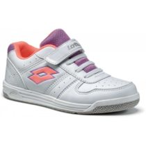Lotto SET ACE XI CL SL biela 33 - Detská voľnočasová obuv