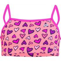 Lotto CLYRA svetlo ružová 128-134 - Dievčenské dvojdielne plavky