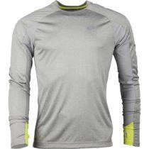 Lotto X RIDE II TEE LS šedá L - Pánske športové tričko