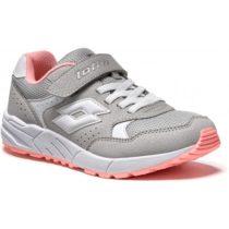 Lotto STRADA V CL SL sivá 30 - Detská voľnočasová obuv