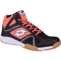 Lotto JUMPER 400 II W MID čierna 7 - Dámska halová obuv