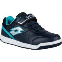 Lotto SET ACE XII CL SL tmavo modrá 32 - Chlapčenská obuv