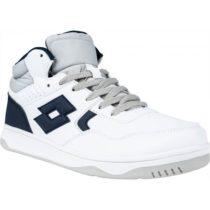 Lotto TRACER MID LTH JR L biela 38 - Chlapčenská voľnočasová obuv