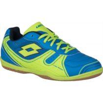 Lotto TACTO 500 III JR modrá 34 - Chlapčenská halová obuv