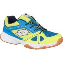 Lotto JUMPER 400 II JR L žltá 33 - Detská halová obuv