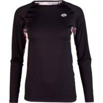 Lotto LYRIC čierna XS - Dámske tričko s dlhým rukávom